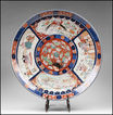 Large Japanese Imari Charger, Late Edo Period