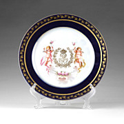 Louis Phillipe S�vres Cabinet Plate
