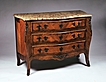 Large Louis XV Marble Top Commode With Bronze Mounts