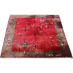 1920 Art Deco Chinese Rug, Size 11.5 x 8.9