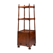 Vintage Regency Style Mahogany Etagere