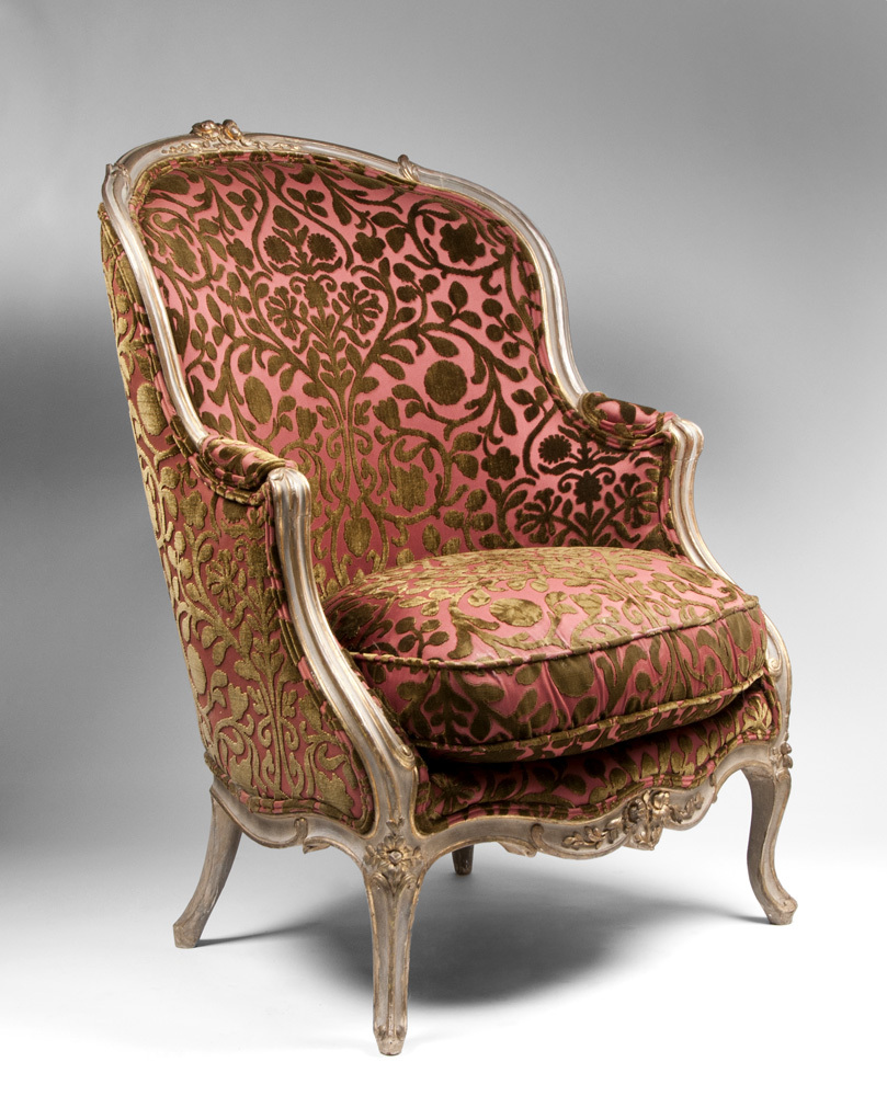 Painted beechwood louis xv bergere chairs from piatik on ruby lane