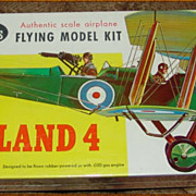 Guillow British De Havilland 4 Balsa Airplane Model Kit Mint/Sealed