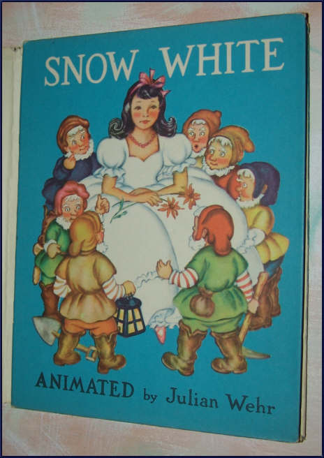 Snow White 1945 Animated Book by Julian Wehr HBDJ