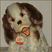 Cute Cocker Spaniel Mohair Toy Dog by Sutton, Made in Japan