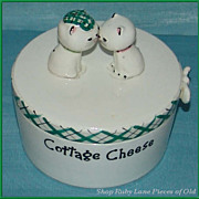 Holt Howard Cozy Kitten Cottage Cheese Covered Dish
