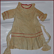 Antique Doll Dress for your French Jumeau Bebe