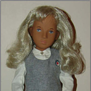 "SOLD Sasha ""School Girl"" Doll in Original Outfit c.1980 Trendon"