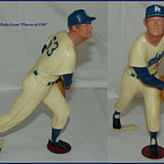 Hartland Baseball Figure Brooklyn Dodgers Don Drysdale c.1958