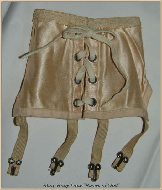 Miniature Ivy brand Salesman Sample Corset Girdle c.1940