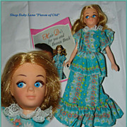 Hasbro Bonnie Breck Advertising Fashion Doll c.1971