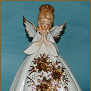 Josef Ceramics Figurine Angel Night Light
