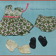 Vogue Ginny Doll Outfit #6044 Tiny Miss Series c.1956