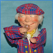 German Pip-Squeak Animated Drinking Character Doll
