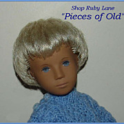 "Trendon Sasha Gregor ""Denim"" Boy Doll, Blonde Hair"