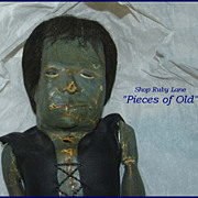 Rare Vintage Frankenstein Latex Monster Doll 1960's