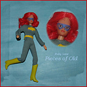 "Mego 8"" Bat Girl Action Figure, Batman"