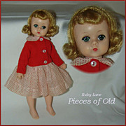 SOLD Madame Alexander Lissy Doll in tagged jacket/dress outfit c.1956