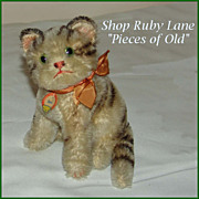 Vintage Steiff Susi Cat with chest tag