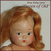 Vogue Composition Toddles Doll c.1946, needs some TLC