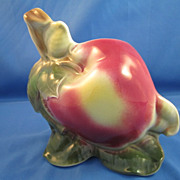 REDUCED Royal Copley Apple Wall Pocket/Planter, circa 1950's