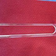 Lucite Tongs-Grooved