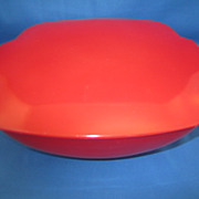 REDUCED Red Pyrex 1.5 Qt. Covered Casserole