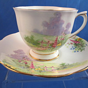 REDUCED Royal Albert Countess Shape Cup & Saucer