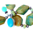 Peruvian Opal & Turquoise Bracelet by Pilula Jula &quot;Ambush Me&quot;