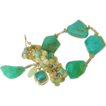 "Peruvian Opal Cluster Bracelet by Pilula Jula ""Slippery Slopes"""