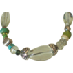 "Green Amethyst Skinny Bracelet by Pilula Jula ""goodbye in her eyes"""