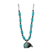 Turquoise Zuni Bear Talisman Necklace by Pilula Jula &quot;come undone&quot;