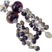 "Boro Tourmaline Sapphire Cluster Earrings by Pilula Jula ""Heavy Lifting"""