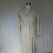 1960s Cardigan Sweater and Skirt Set - Jantzen