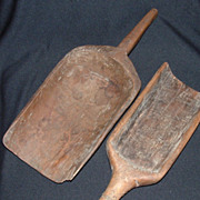 Primitive Wooden Scoops