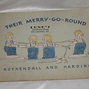 REDUCED Vintage Children's Book their Merry-Go-Round  Ima L. Kuykendall & Mona V. Kuykendall H