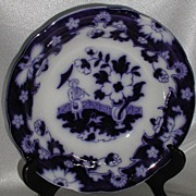 REDUCED Royal Staffordshire Pottery Arthur Wilkinson Pekin Flow Blue Bowl Burslem England