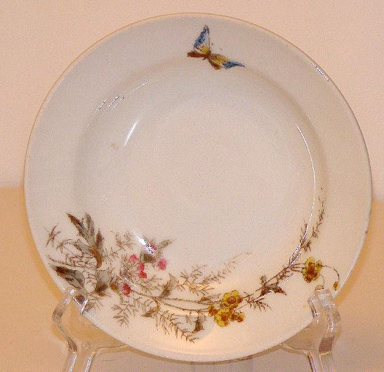 Charles Field Haviland Gerard Dufraisseix & Morel Limoges Meadow Visitor 7 1/2&quot; Dessert Plate