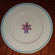 "Royal Worcester Bone China "" Florizel "" Salad Plate"