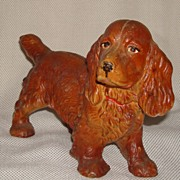 Vienna Cold Paint Bronze Cocker Spaniel