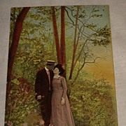 Vintage 1900 Romantic Post Card