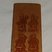 Vintage Double Sided Cookie Mold