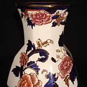 "English Masons "" Mandalay "" Multi-Color Vase"