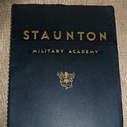 1939 Staunton Military Academy Catalog