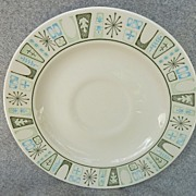 "Taylor - Smith & Taylor China "" Cathay "" Pattern - Saucer"
