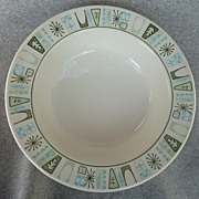 "Taylor - Smith & Taylor China "" Cathay "" Pattern - Soup Bowl"