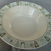 "Taylor - Smith & Taylor China "" Cathay "" Pattern - Vegetable Bowl"