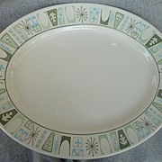 "Taylor - Smith & Taylor China "" Cathay "" Pattern - Platter"