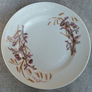 "Lewis Strauss & Sons - Limoge ""Thistle"" Pattern - Luncheon Plate"