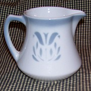 "Syracuse China "" Cadet "" Pattern Creamer"